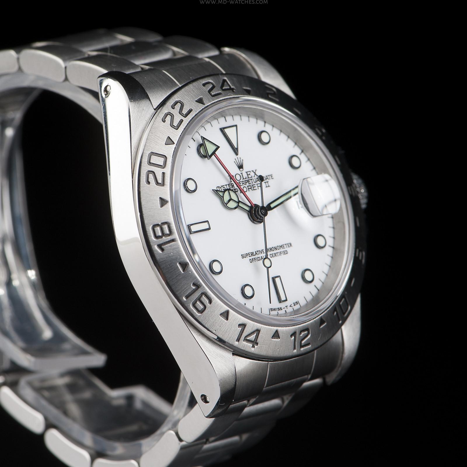 rolex explorer ii ref 16570 40mm md watches