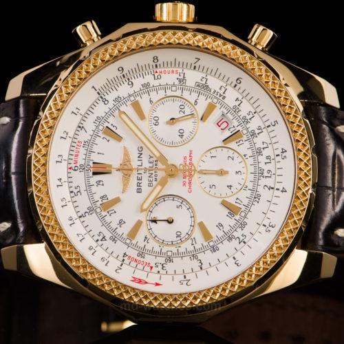 Breitling For Bentley Motors 18k Gold Ref K25362: Ceasuri De Lux Breitling Second Hand De Vanzare