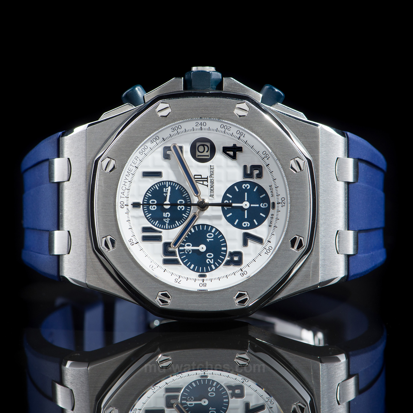 Audemars Piguet Royal Oak Offshore Chronograph Navy Ref